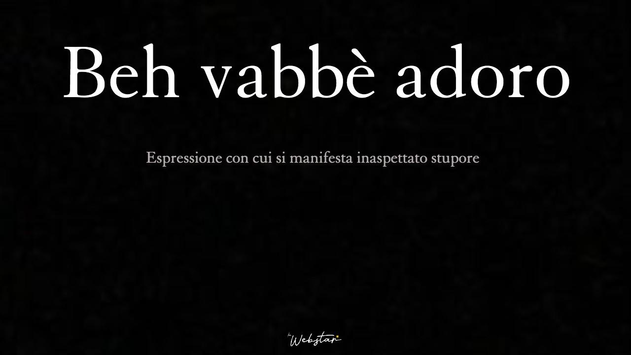 """Beh vabbè adoro: il nuovo """"mi illumino d'immenso"""" coniato da Alfonso Signorini"""