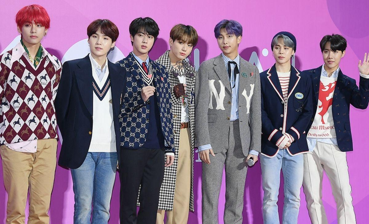 Il gruppo k-pop BTS