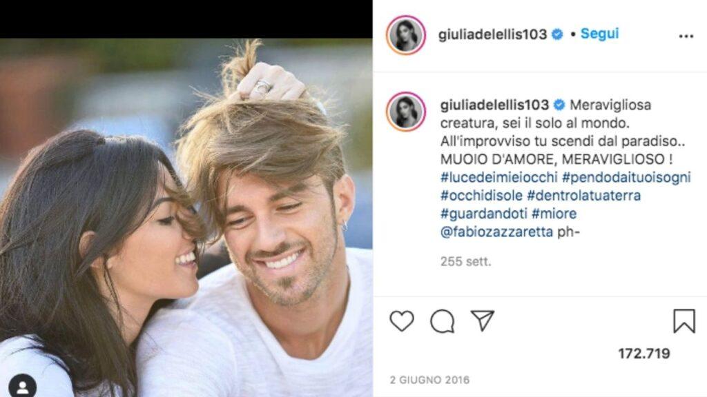 Giulia De Lellis e Andrea Damante nella prima foto insieme dopo Uomini e Donne