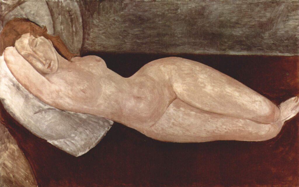 Nudo disteso di Modigliani
