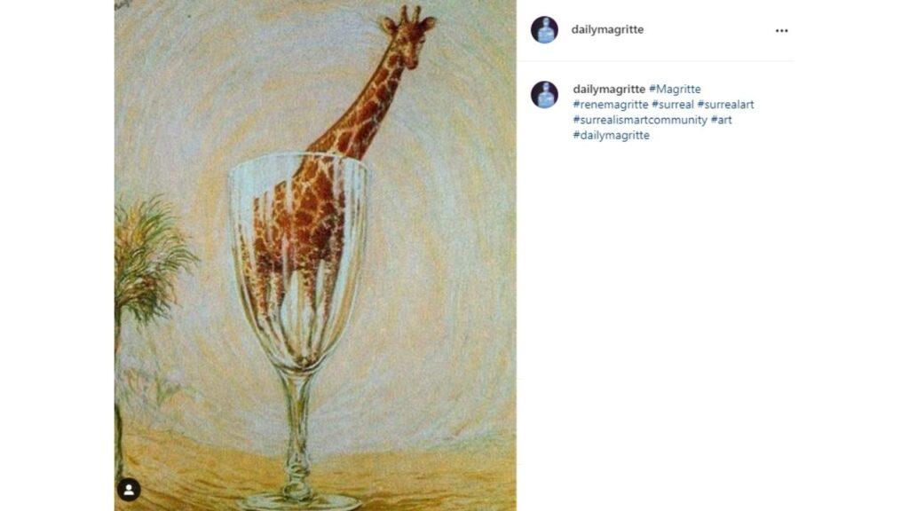 Il bagno in vetro di Magritte