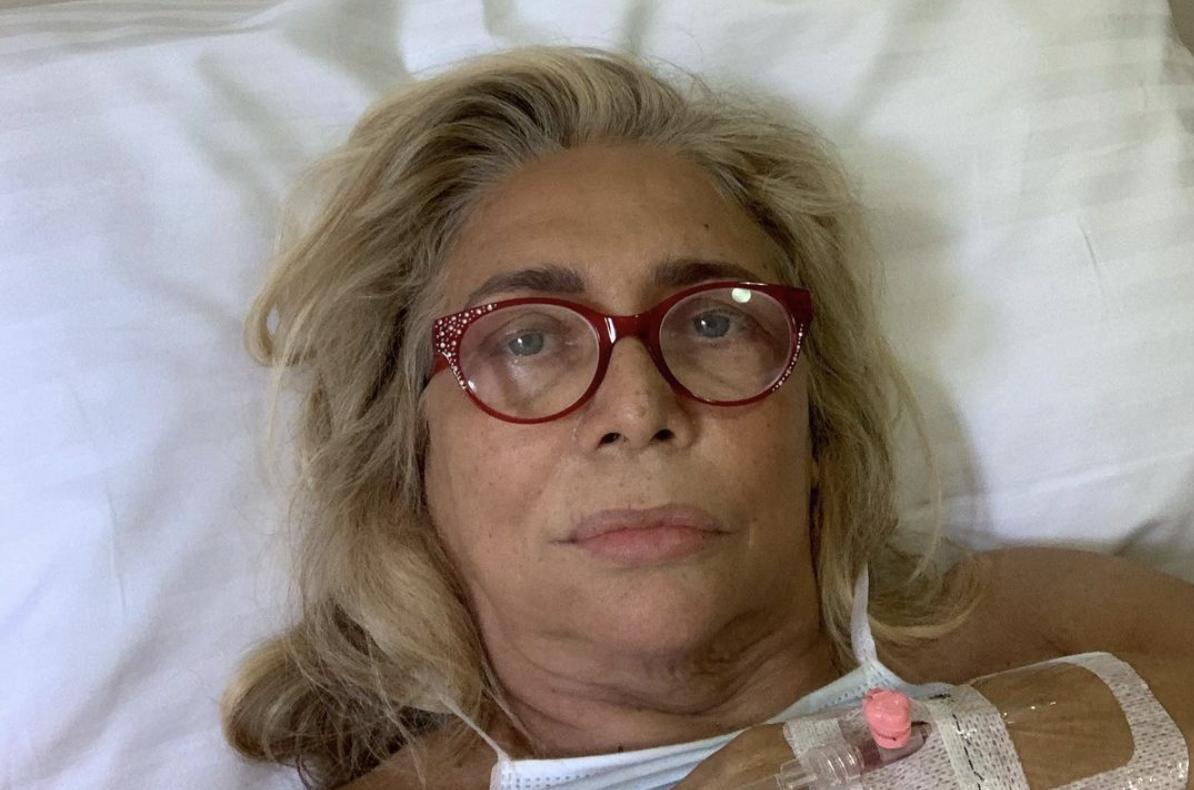 Mara Venier ospedale