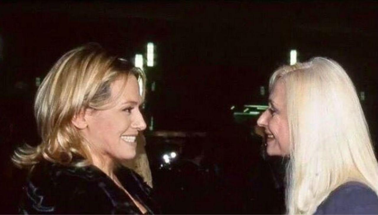 Barbara d'Urso e Raffaella Carrà