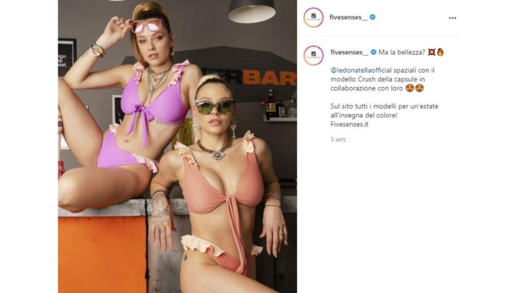 fivesenses by donatella: le provvedi disegnano bikini