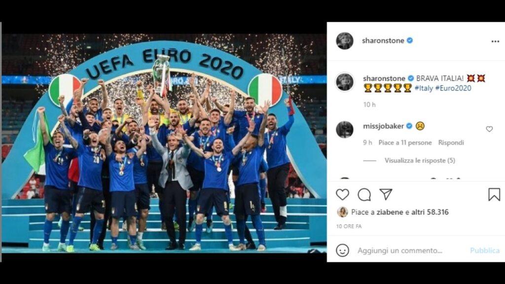 sharon stone vittoria europeo