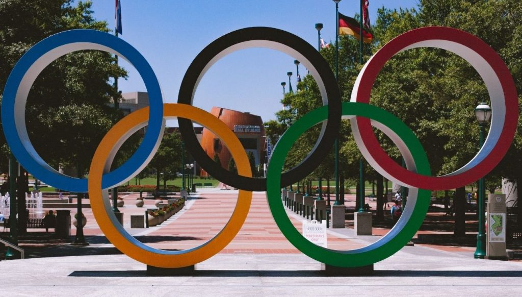 Olimpiadi logo cerchi olimpici