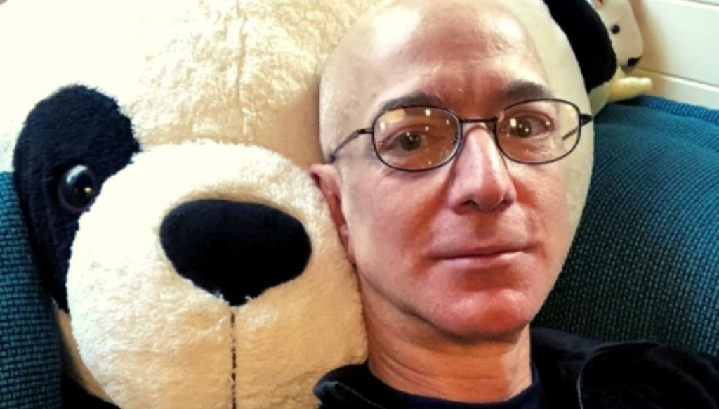 Jeff Bezos patron di Amazon