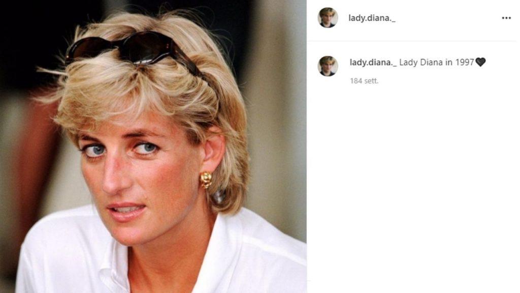 le lettere di Lady Diana