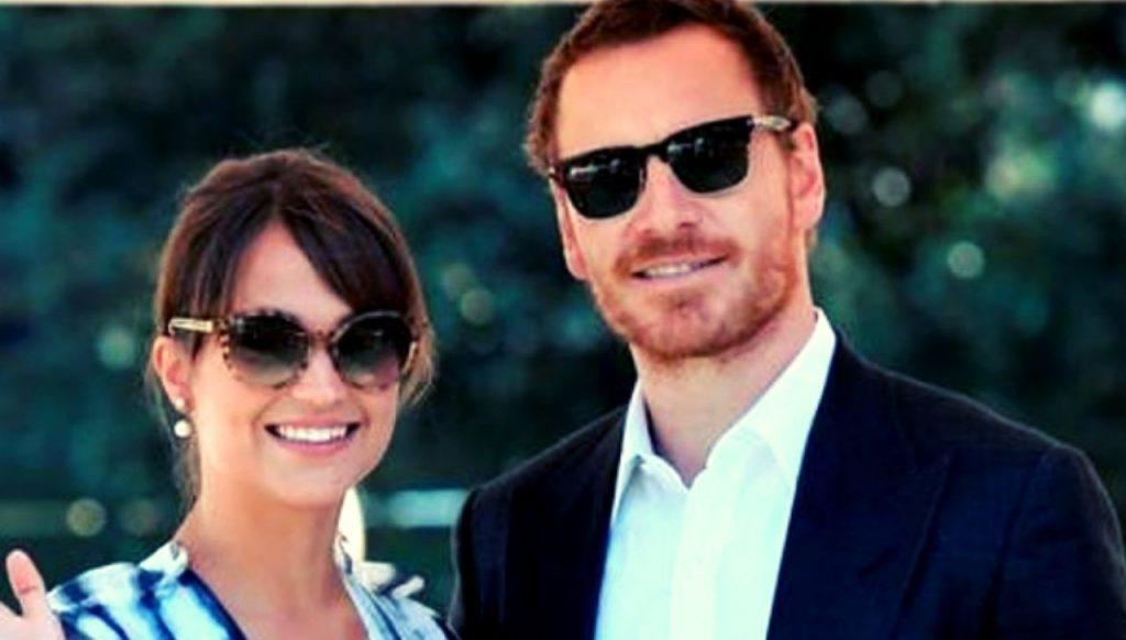 Michael Fassbender e la moglie Alicia Vikander