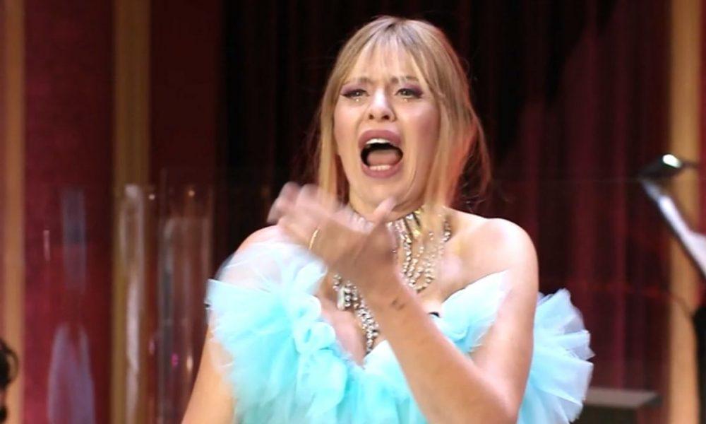 Alessandra Mussolini ballando con le stelle lucarelli