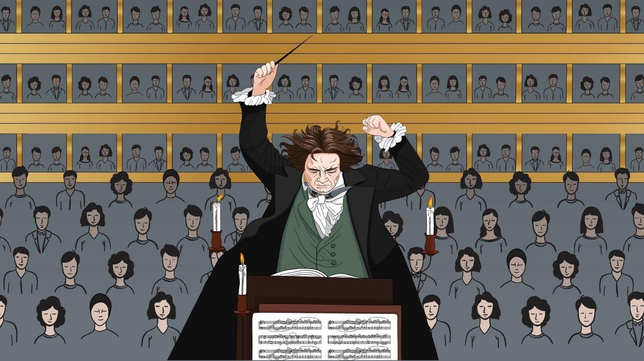 Grafica Ludwig Beethoven