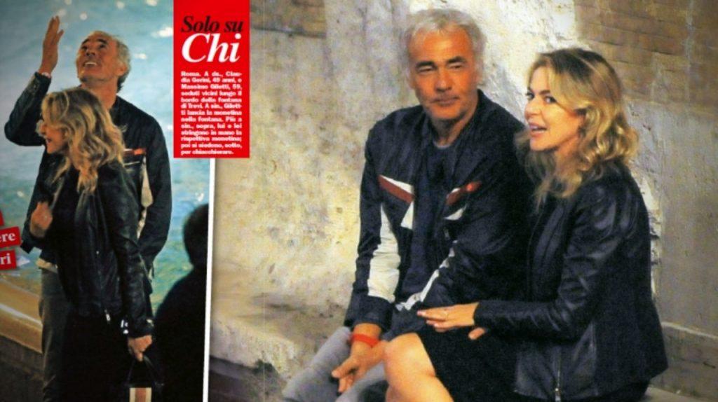 Massimo Giletti e Claudia Gerini