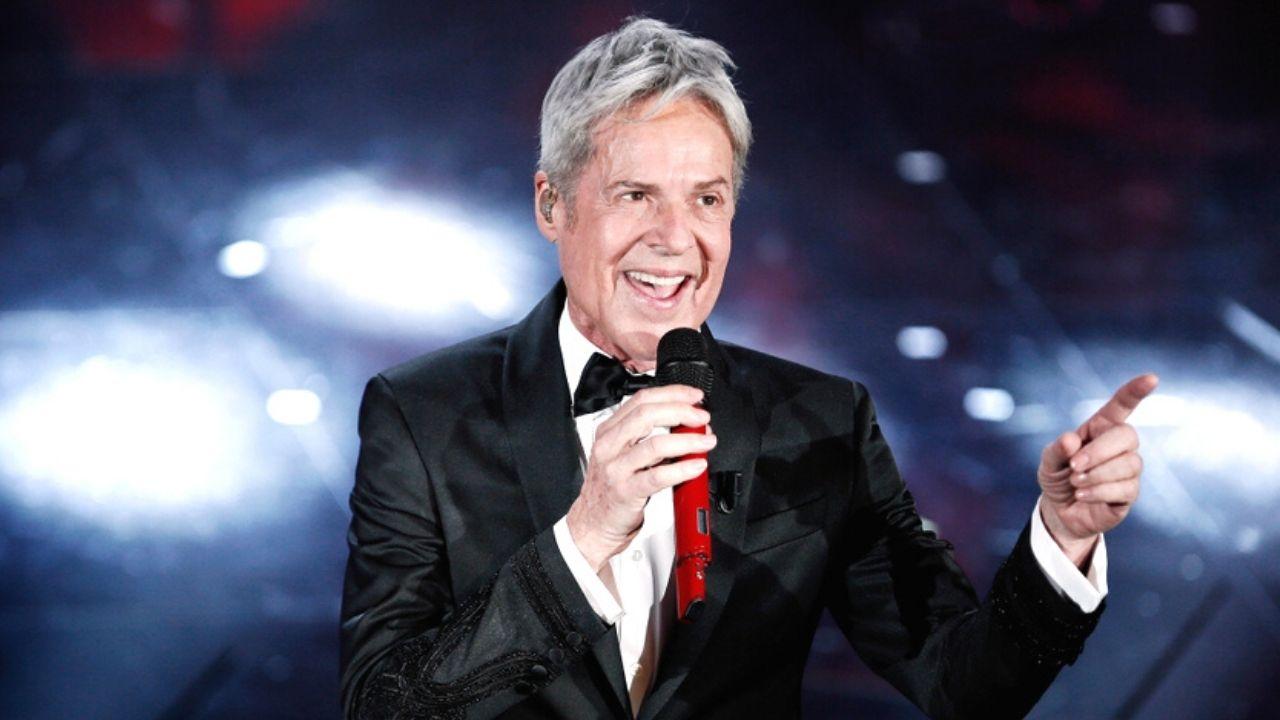 Claudio Baglioni al Festival di Sanremo