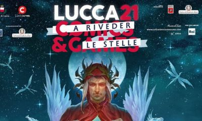 Lucca Comics conferenza stampa Locandina