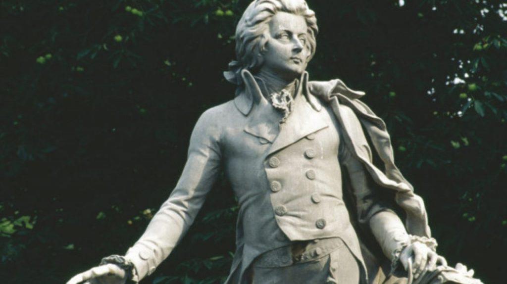 Statua di Mozart