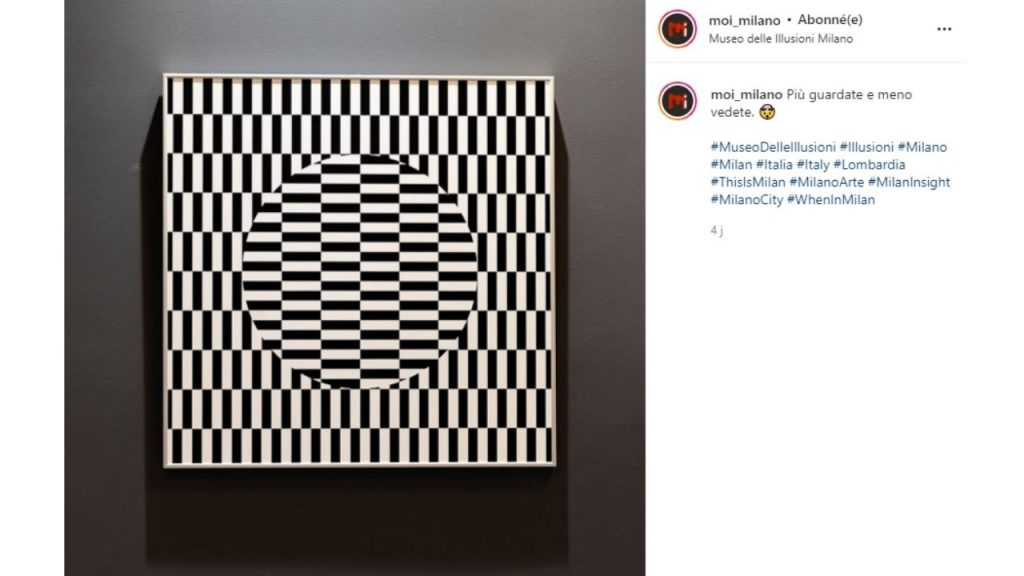 Museo delle Illusioni opere d'arte