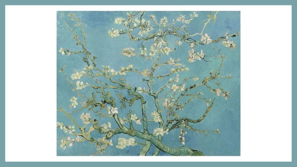 van gogh ramo di mandorlo fiorito