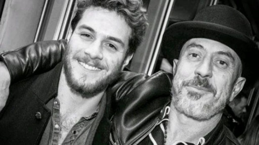 Roberto Ciufoli e il figlio Jacopo