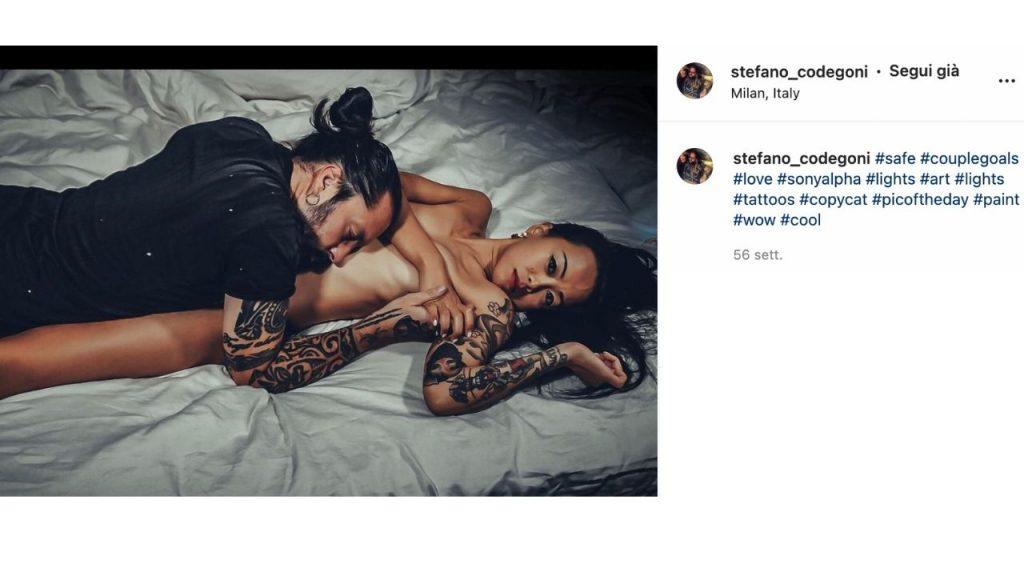 stefano codegoni e man lo zhang su instagram
