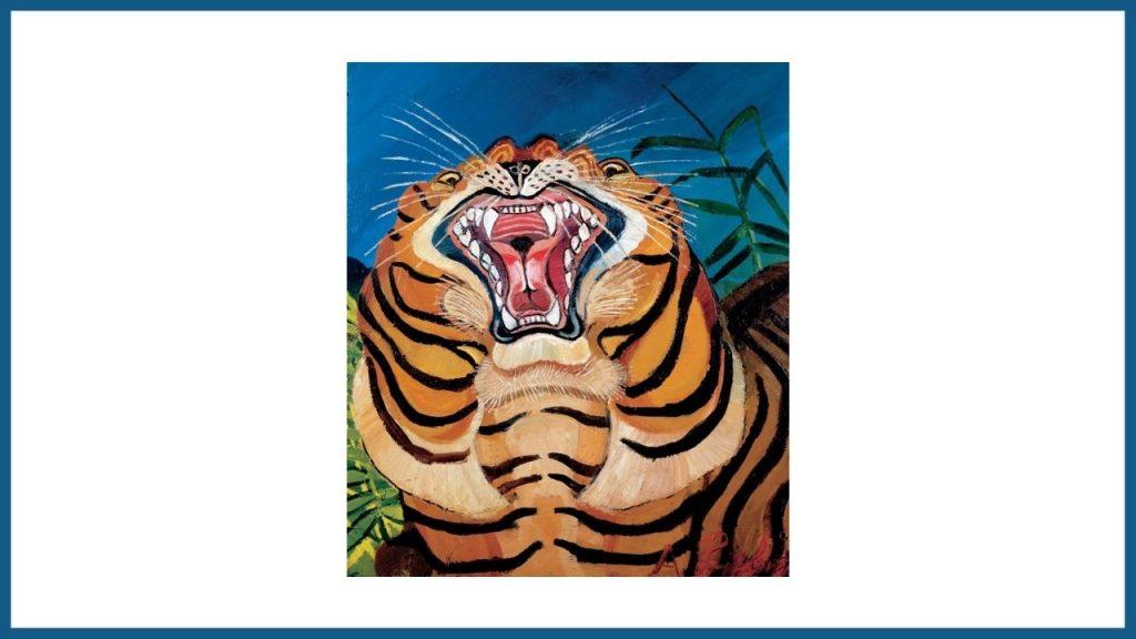 teste di tigre di Ligabue